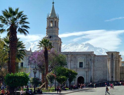 Arequipa; la ciudad blanca de eterno cielo azul
